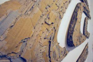 Detail Otak Kornat - karton 180*60cm