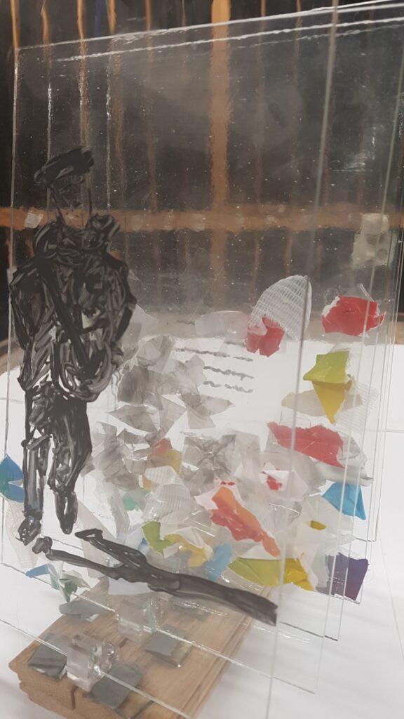 Idee vorming werk Plastic